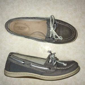 Sperry Topsiders In Gray